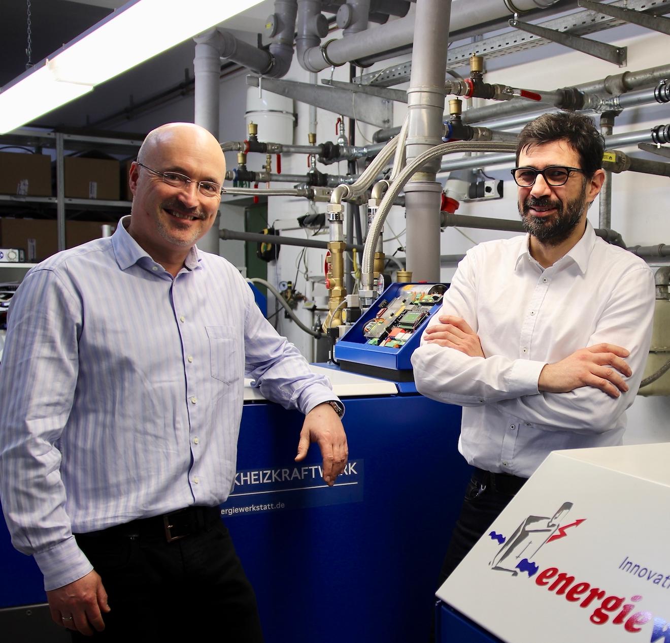 Lutz Raugust Und Lutz Gärtner Sind Zufriedene Partner Der EMC Berlin Energieberatung